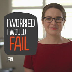 Erin Reardon wasn't sure where she was headed, even right up to the HSC.